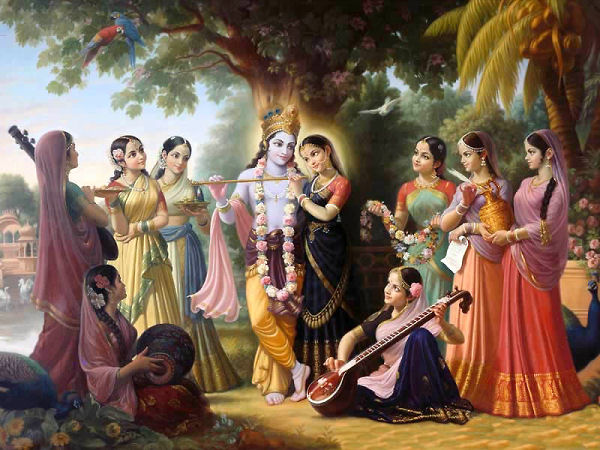 The Eight Topmost Varistha Gopis